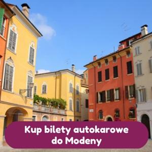 Tanie autokary Polska - Modena
